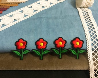 Tiny sunflower patch,iron on patch,embroidered patch,backpack patch,hat patch, DIY