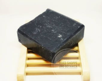Activated Charcoal Soap with Tea Tree Oil, All Natural Charcoal Soap, Vegan Charcoal Soap, Charcoal and Tea Tree Soap, Vegan Charcoal Soap