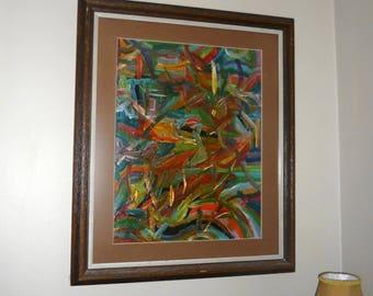 Abstract Original Art No Title