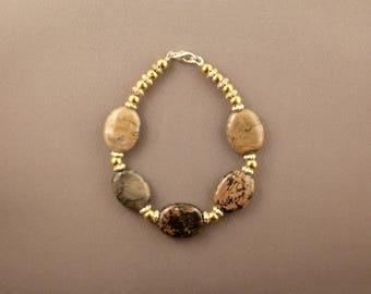 Mexican Rhodonite Bracelet