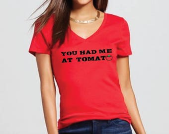 You had me at tomato plantbased