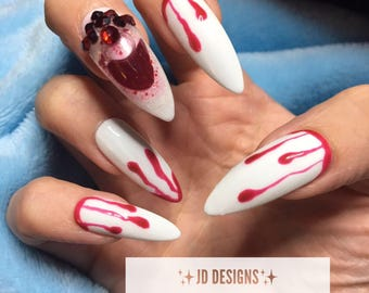 Witch nails | Etsy
