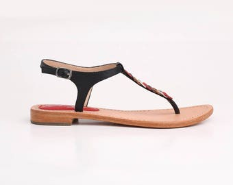 Arianna - Elegant sandals - Hand crafted from leather