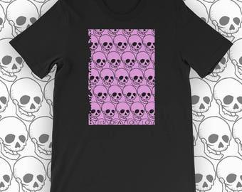 T Shirt Skull #9 - Zeropatollo Indie design