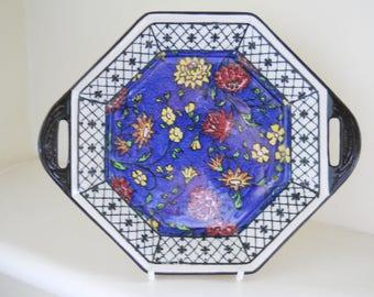 Royal Doulton Octagonal series ware dish - Reg. No. 597783