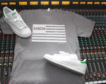 Official Anion Music Space Boy Flag T-Shirt.