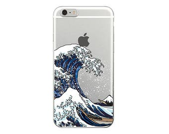 iPhone X Case, iPhone 8 Case, Phone Case, iPhone Case, The Great Wave, iPhone 7 Case, iPhone 6 Case, iPhone 7 Plus, iPhone 6 Plus, iPhone 5