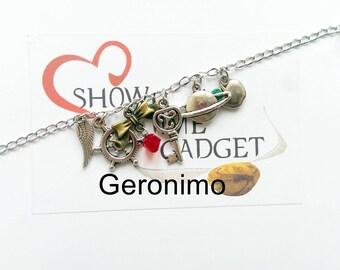 Bracelet - Necklace - Earring Geronimo -Allons-y - Tardis