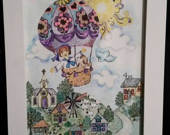 The Fantasy Balloon by Carol Barbeau