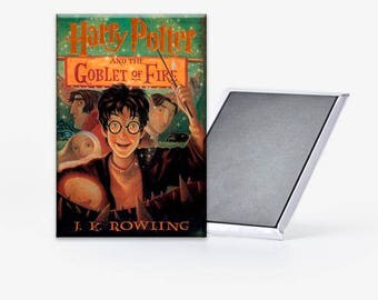 Harry Potter and the Goblet of Fire Book Cover Refrigerator Magnet 2x3