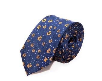 MORÉ de - Golden blue tie
