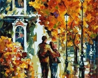 """Picture """"Walk of lovers"""""""