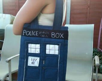 Limited Edition TARDIS Dr Who Police Box handbag