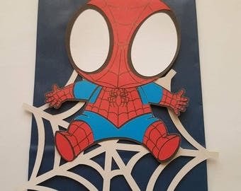 Spider Man Treat Bags, Spider Man Loot Bag, Party Treat Bag, Spidey Goodie bag, Spider Man Favor Bags