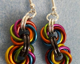 Mobius Ball Chainmaille Earrings