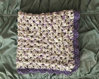 Perfectly Purple BEM Blanket (perfect for baby or as a lap blanket!)