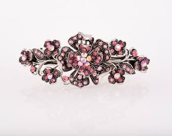 Stunning Austrian Crystal Hair Barrette perfect for Prom or Black Tie event/Crystal Hairclip/Hair Jewellery/Hair accessories/Wedding/Bridal