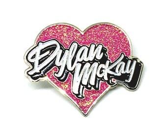 I Love Dylan McKay Enamel Pin
