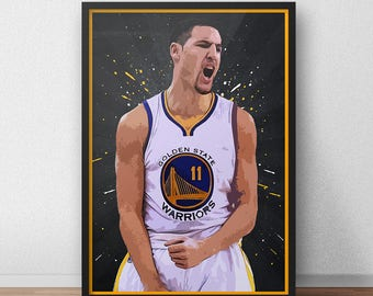 Klay Thompson Poster - Golden State Warriors