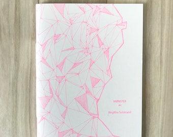 Pattern Zine, Pattern Fanzine, Risoprinted Zine Pink