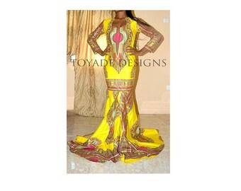 Dashiki dress, Ankara Dress, African print dress, Ankara gown, African print gown, Angelina Gown, Angelina Dress, Dashiki Gown, Kente Dress