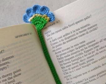 Bookmark flower crochet Flower bookmark