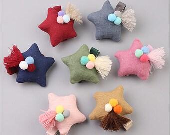 TWINKLE little star hair clips