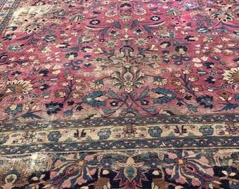10x16 Antique Persian rug 1920's