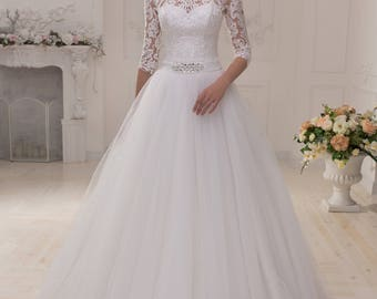 Wedding dress wedding dress bridal gown REBECCA