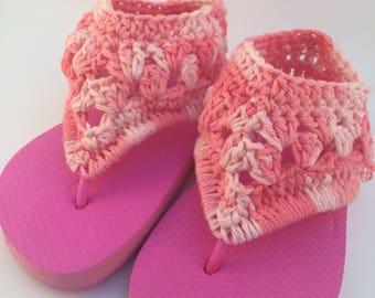Gladiator Flip Flops, FREE SHIPPING!,  Crochet Flip Flops, Gladiator Sandals, Boho Footwear