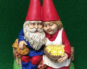 loving Gnome couple