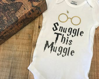 Harry Potter, Snuggle this Muggle Baby Onesie