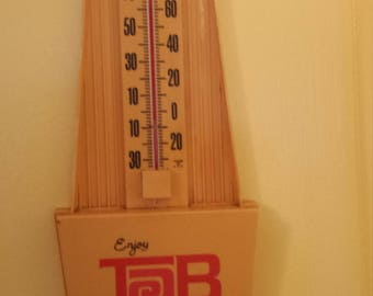 Vintage 1960s Tab Thermometer