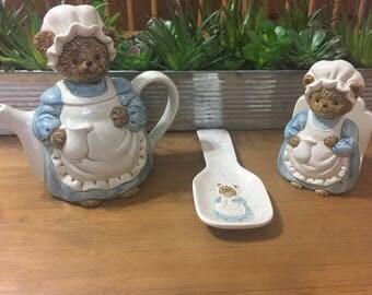 Handmade Pottery by Otagiri - 3 Piece Kitchen Set
