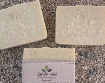 100% natural avocado SOAP