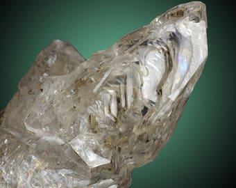 Skeletal / Fenster Quartz; Las Horquetas, Estancia El Sosiego, Lago Argentino Dept., Santa Cruz Prov., Argentina  --- fine and rare minerals