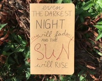 The Sun Will Rise Journal
