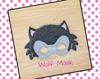 Wolf Mask-Halloween Costume/Mask-Dress Up-Pretend Play-Child's Imaginary Play- Birthday Party Favor-Theme Parties-Wolf-Photo Prop-Masks