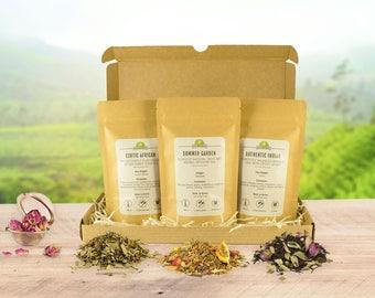 Box of Delicious Artisan Organic Loose Leaf Tea Blends
