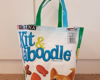 Recycled Cat Food Tote Bag
