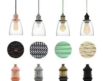 plug in glass bell shade pendant light plug in lamp custom design your own