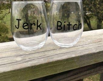 Supernatural Inspired Wine Glass