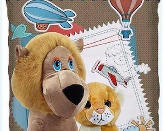 Baby duvet cover set | Kids Duvet Cover | Gift for baby | Toddler Duvet Cover | Baby Bedding | Lions Duvet Cover