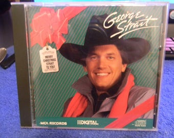 "George Strait ""Merry Christmas Strait To You"" 1986"