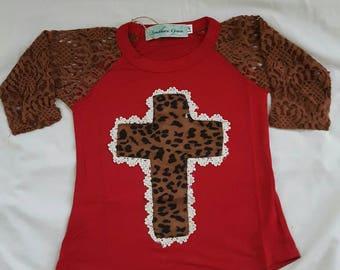 Red Leopard cross