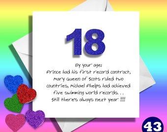 18 geburtstag der nichte