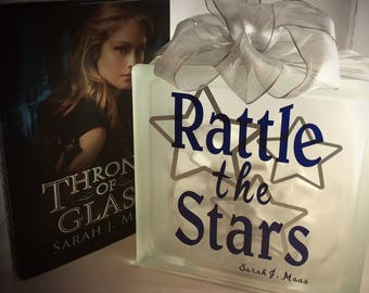 Rattle the Stars Lighted Glass Block