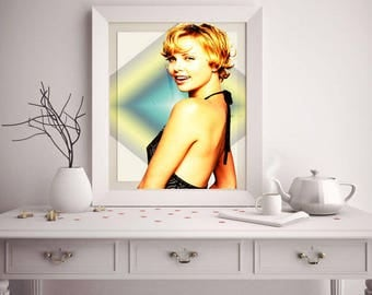 Charlize Theron posters, Charlize Theron, Wall art, Charlize Theron print, Charlize Theron gift, Charlize Theron art, Home Decor, Movie