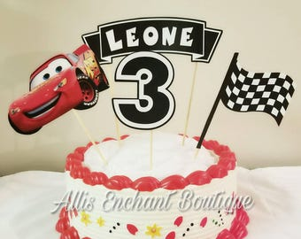Cars Cake Topper, Cars Birthday Party , Disney Cars Topper, Cars Birthday Decorations