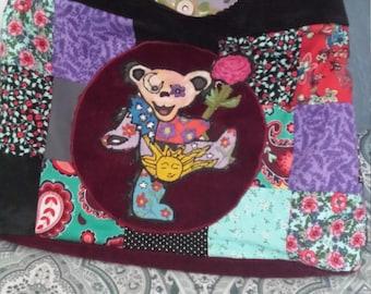 Grateful dead inspired....Sunshine galaxy dancing bear purse